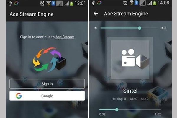 Ứng dụng AceStream
